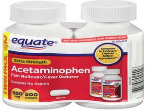 Ацетаминофен