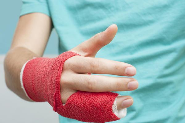 Переломы пальцев рук