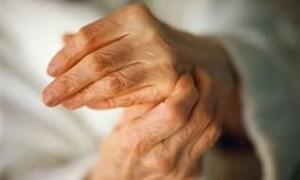 Ограничение подвижности пальцев рук
