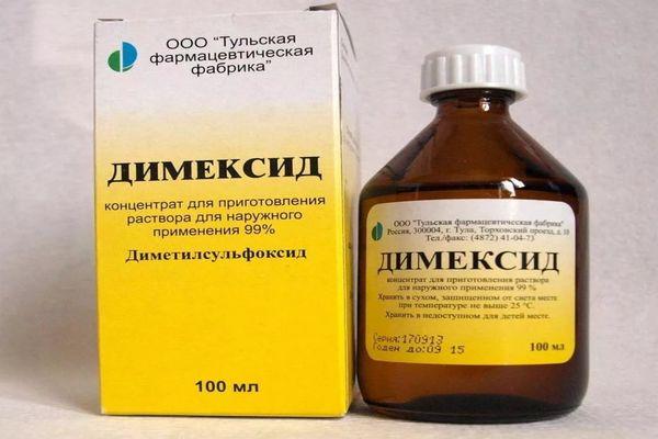 Как лечить ожог Димексидом: препараты и народные средства