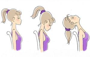 Упражнения для шейных позвонков