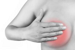 Боль в молочной железе у женщин