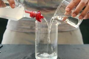 Водка и уксус